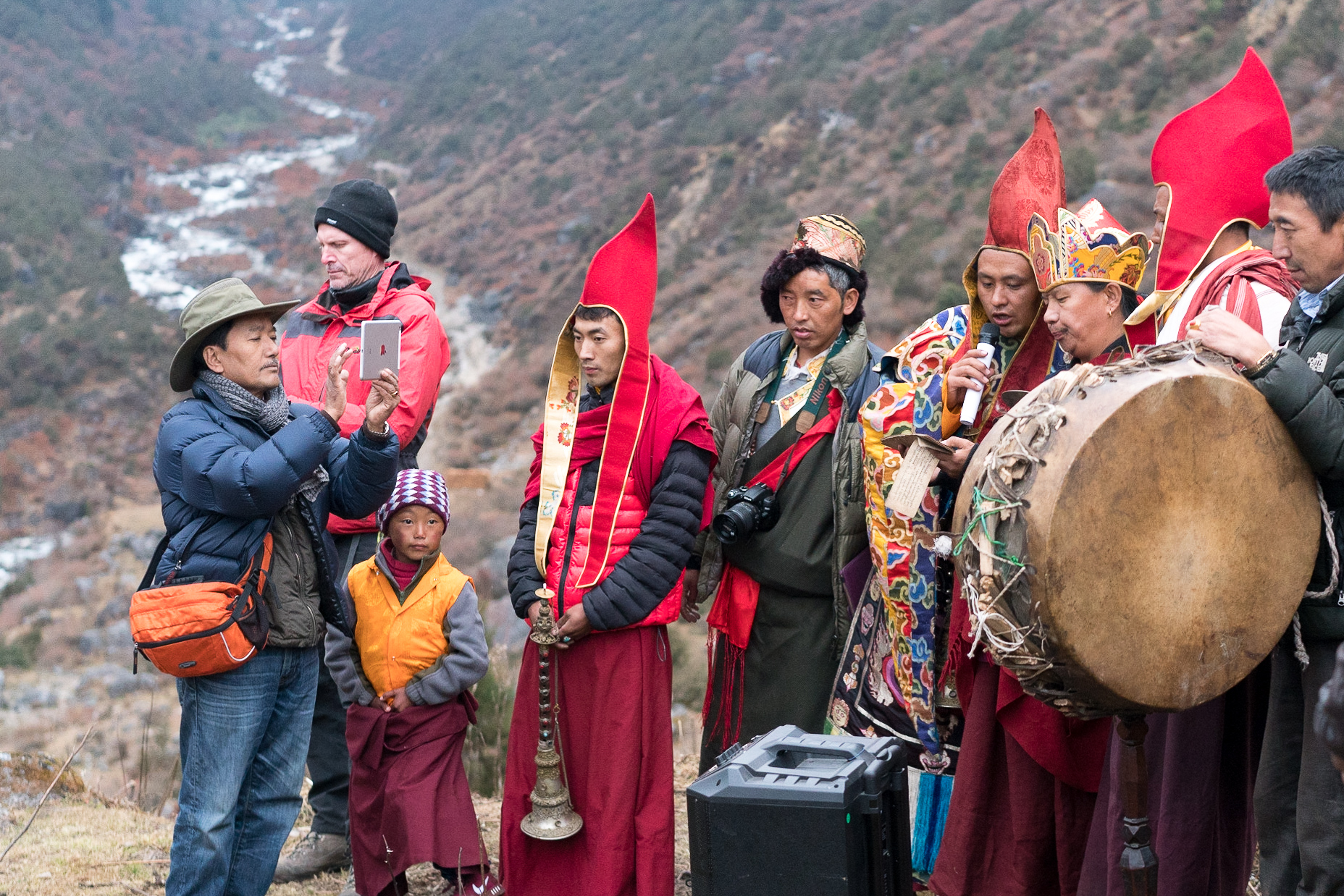 Phutuk festival in Walung, Nepal. Photo: Martin Saxer, 2016