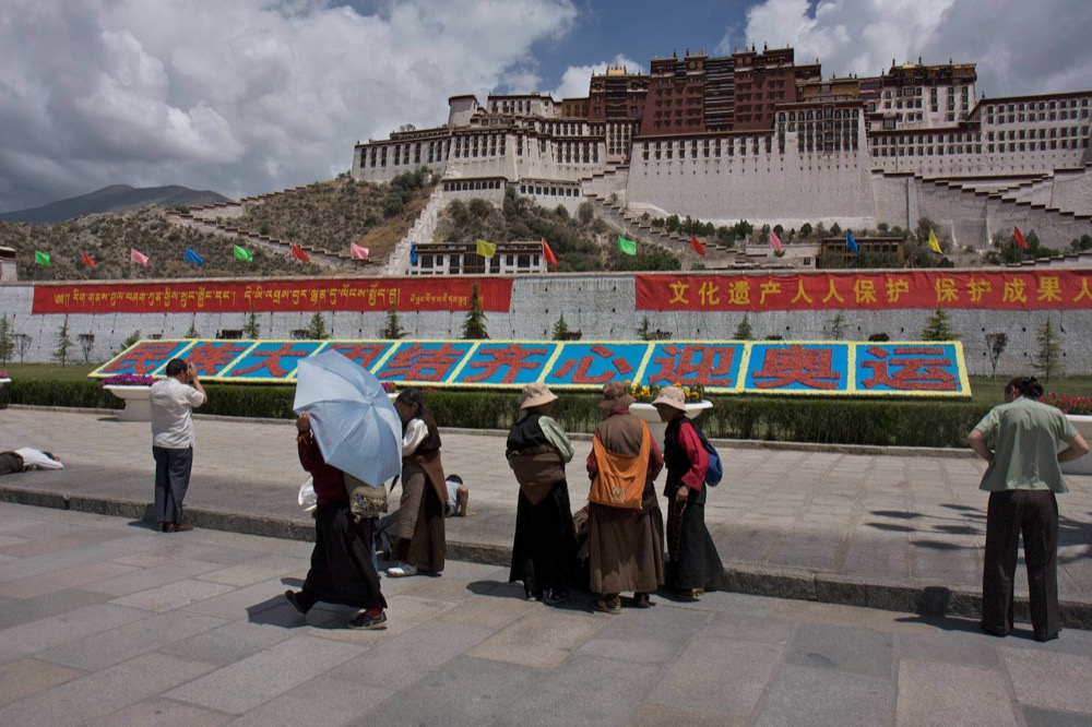 The Potala Palace in Lhasa before the 2008 Beijing Olympics. © 2008 Martin Saxer